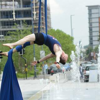 Aaron Twitchen circus outdoor