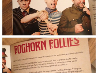 Foghorn cabaret show
