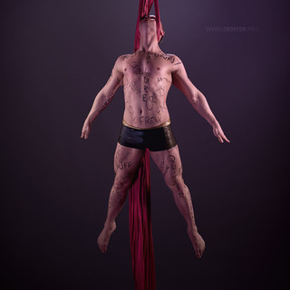 Aaron Twitchen dramatic circus