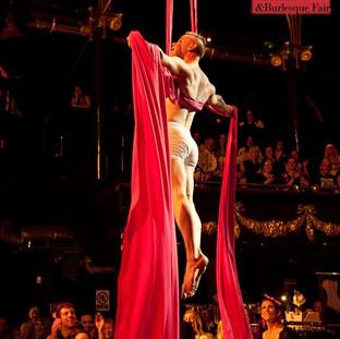 Aaron Twitchen circus burlesque