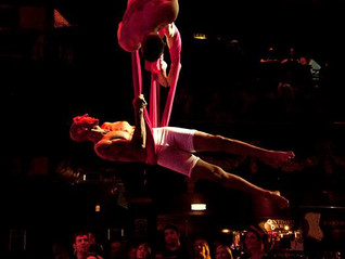 All boy silks duet at HMV Burlesque fair