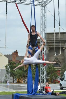 Aaron Twitchen circus duo
