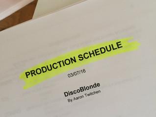 DiscoBlonde filming started