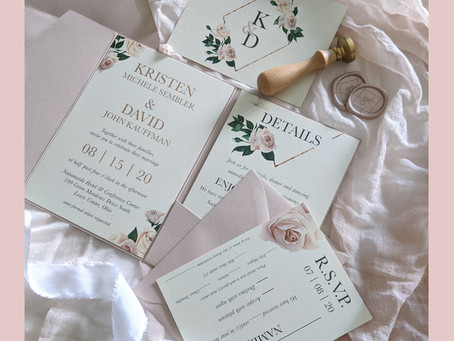 Top 10 Tips to Know Before Ordering Your Wedding Invitations