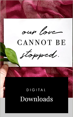 digital download COVID wedding signs and elopement signs