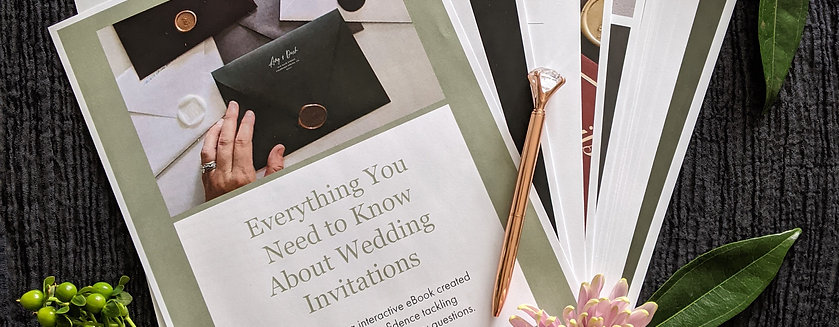 SALE ENDING SOON! Everything You Need to Know About Wedding Invitations - eBook