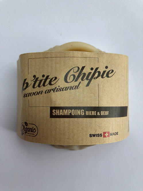 SHAMPOING bière & oeuf