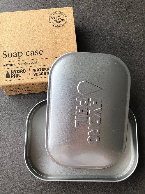 Boîte à savon en fer blanc