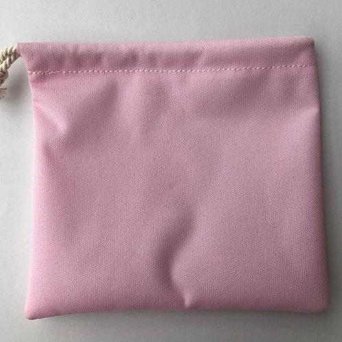 Pochette à savon rose