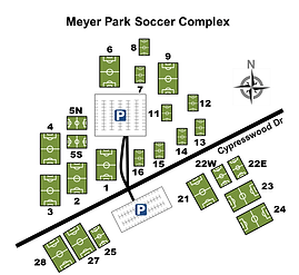 Meyer Park Soccer Field Layout