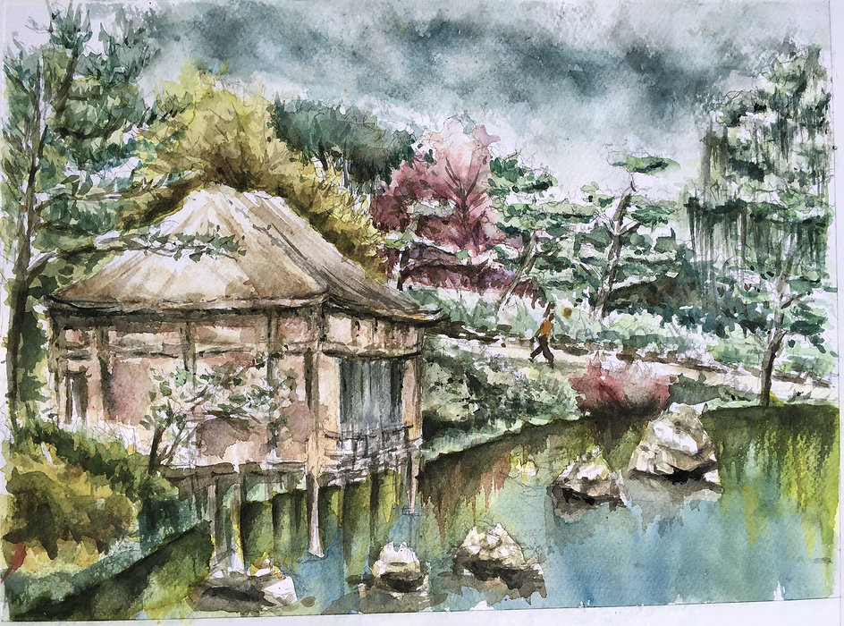 Chicago Botantic Garden Japanese Garden (Sold) Shefali Khanna