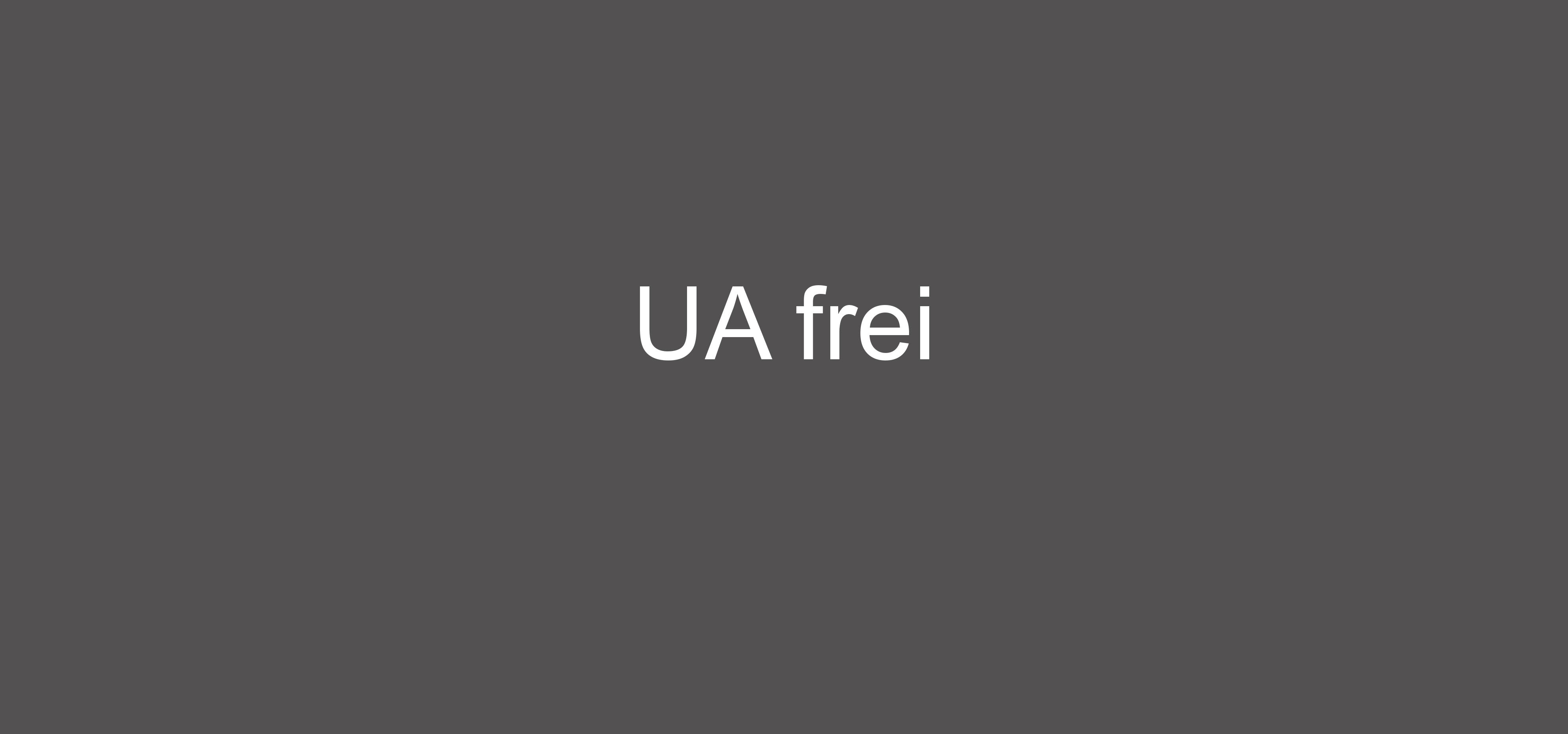 UA frei klein