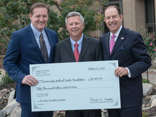 Charles W. Herbster Promotes Health Care with Community Medical Center Foundation Donation