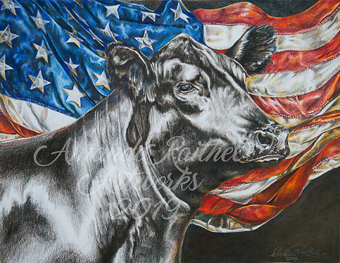 American Beef Ready-to-Hang Metal Print 10% off