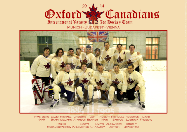 The 2013-14 Oxford Canadians