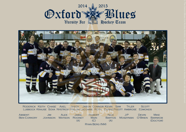 The 2014-15 Oxford Blues