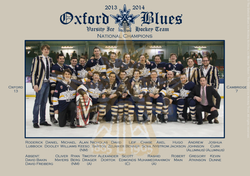 The 2013-14 Oxford Blues