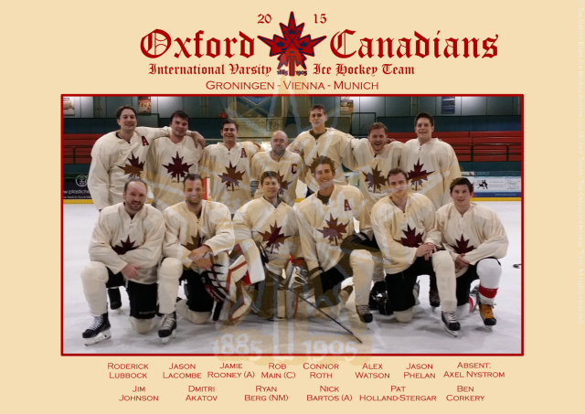 The 2014-15 Oxford Canadians