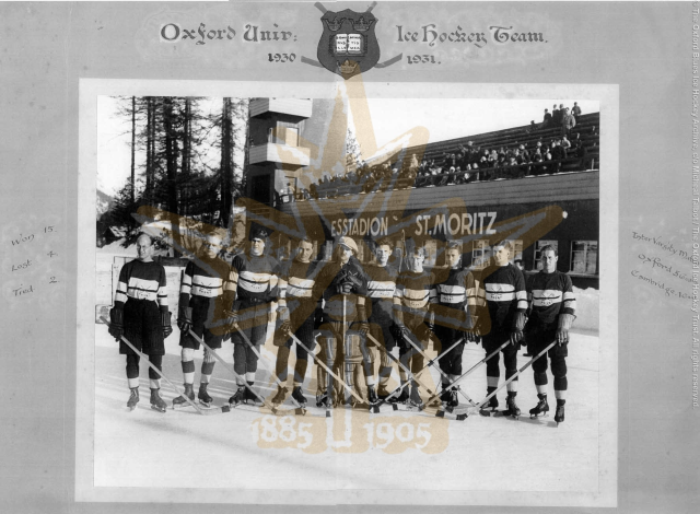 The 1930-31 Oxford Blues