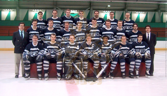 The 2001-02 Oxford Blues