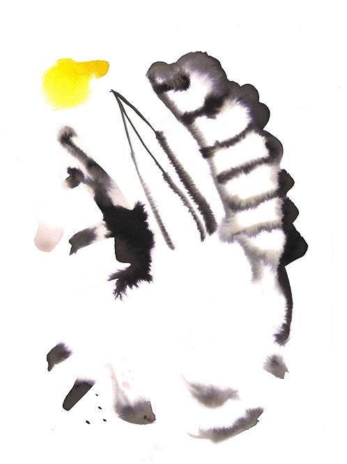 Botanical Flesh A4 Print