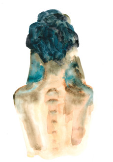 Female 19 watercolour