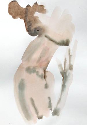 Female 2 watercolour