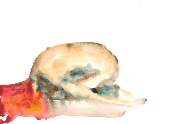 Female 6 watercolour