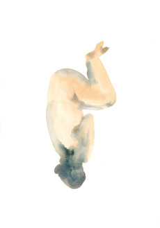 Female ocd 7 watercolour