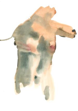 Female 10 watercolour