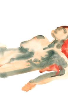 Female 9 watercolour