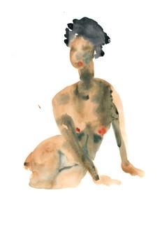 Female 8 watercolour