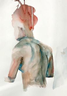 Female 3 watercolour