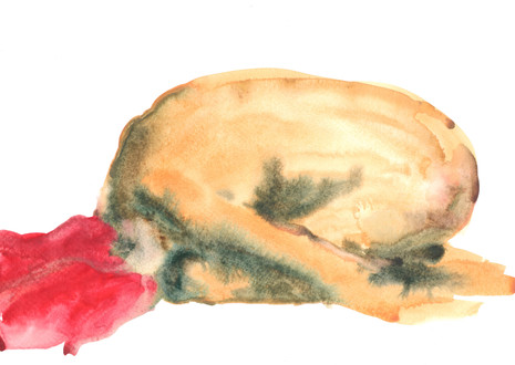 Female 21 watercolour