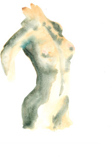 Female 13 watercolour