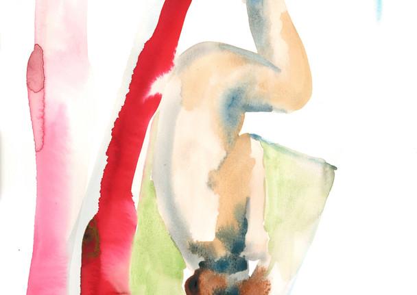 Female OCD 1 watercolour