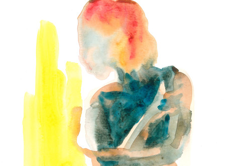 Female 20 watercolour