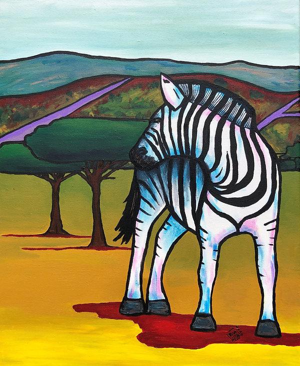 Animal valley of a thousand hills zebra.