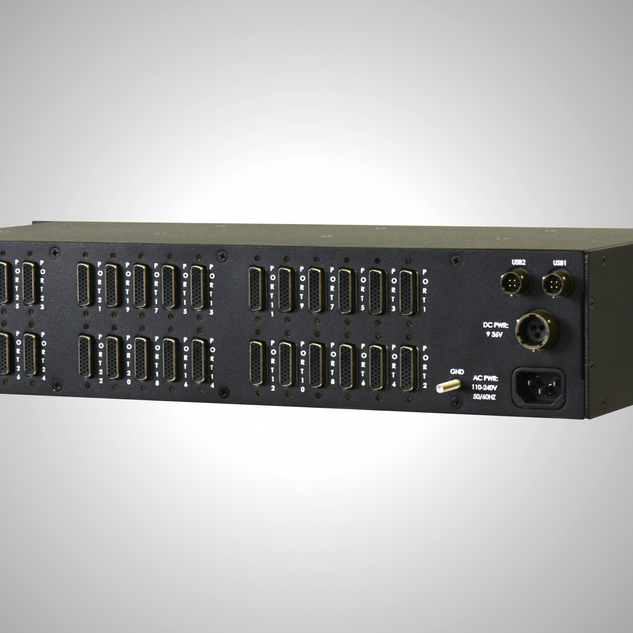 RIOS RCM Rackmount Radio Interoperability Gateway Back