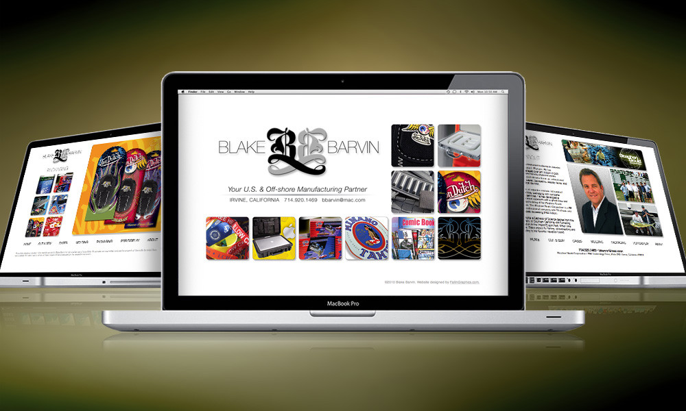 WEBSITE | Blake Barvin