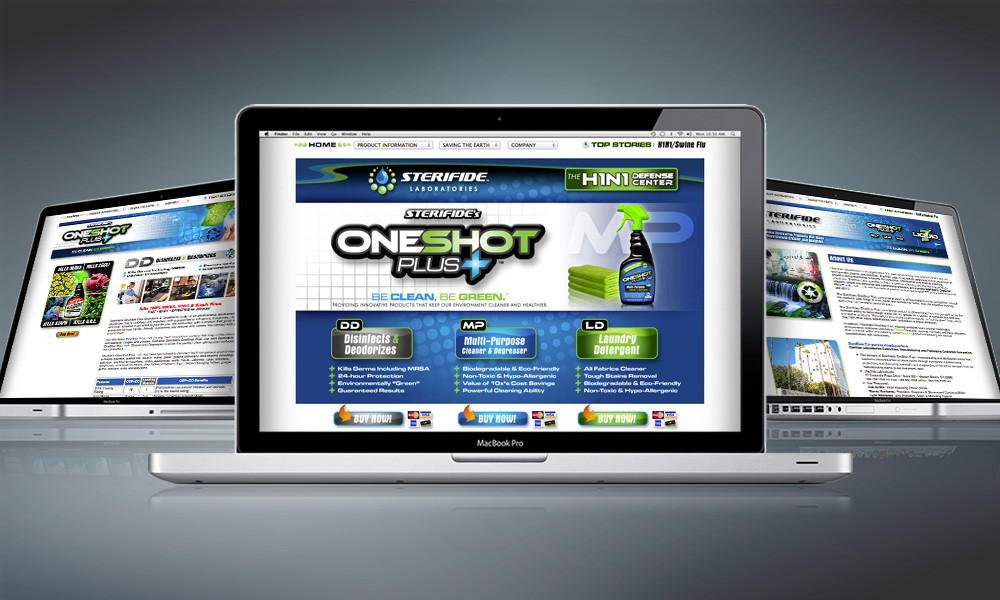 WEBSITE | One Shot Plus+
