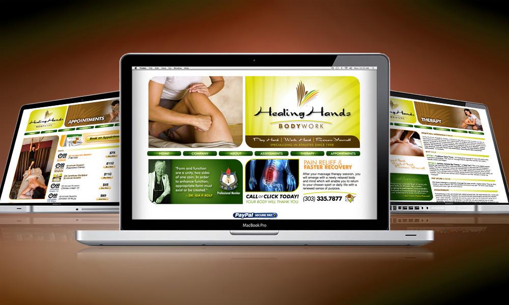 WEBSITE | Healing Hands