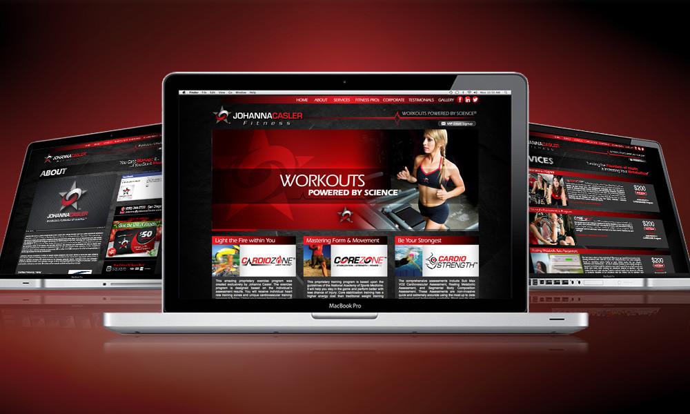 WEBSITE | Johanna Casler Fitness