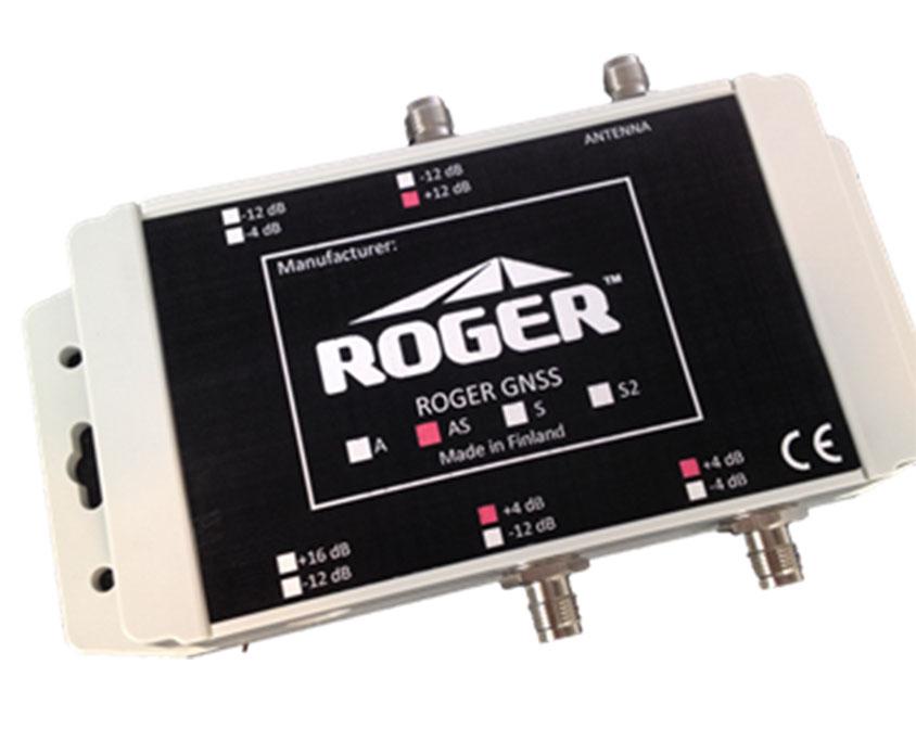 GNSS-AS-IP67, Line Amplifier-Splitter