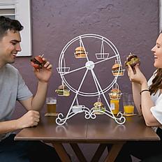 Roda gigante de mini burguer