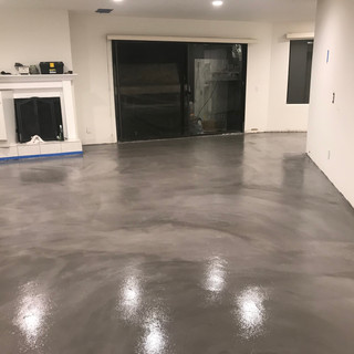 Troweled Overlayment Stain & Seal Urethane Sealer