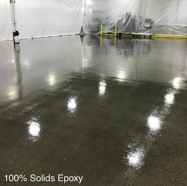 100 Solids Epoxy Warehouse Flooring
