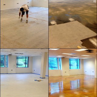 Stain & Sealed Troweled Overlayment