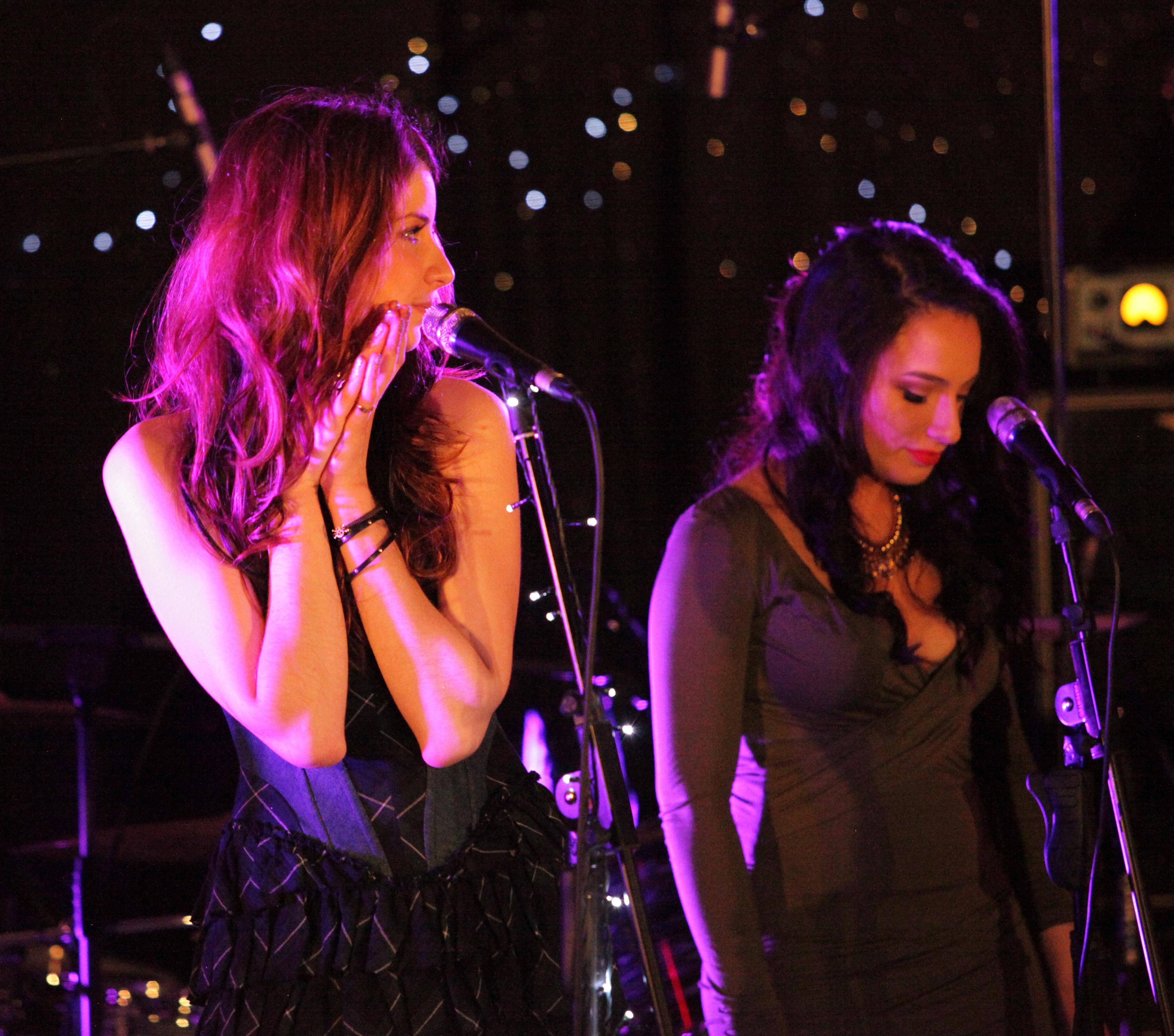 Molly Devine and Meri Haami