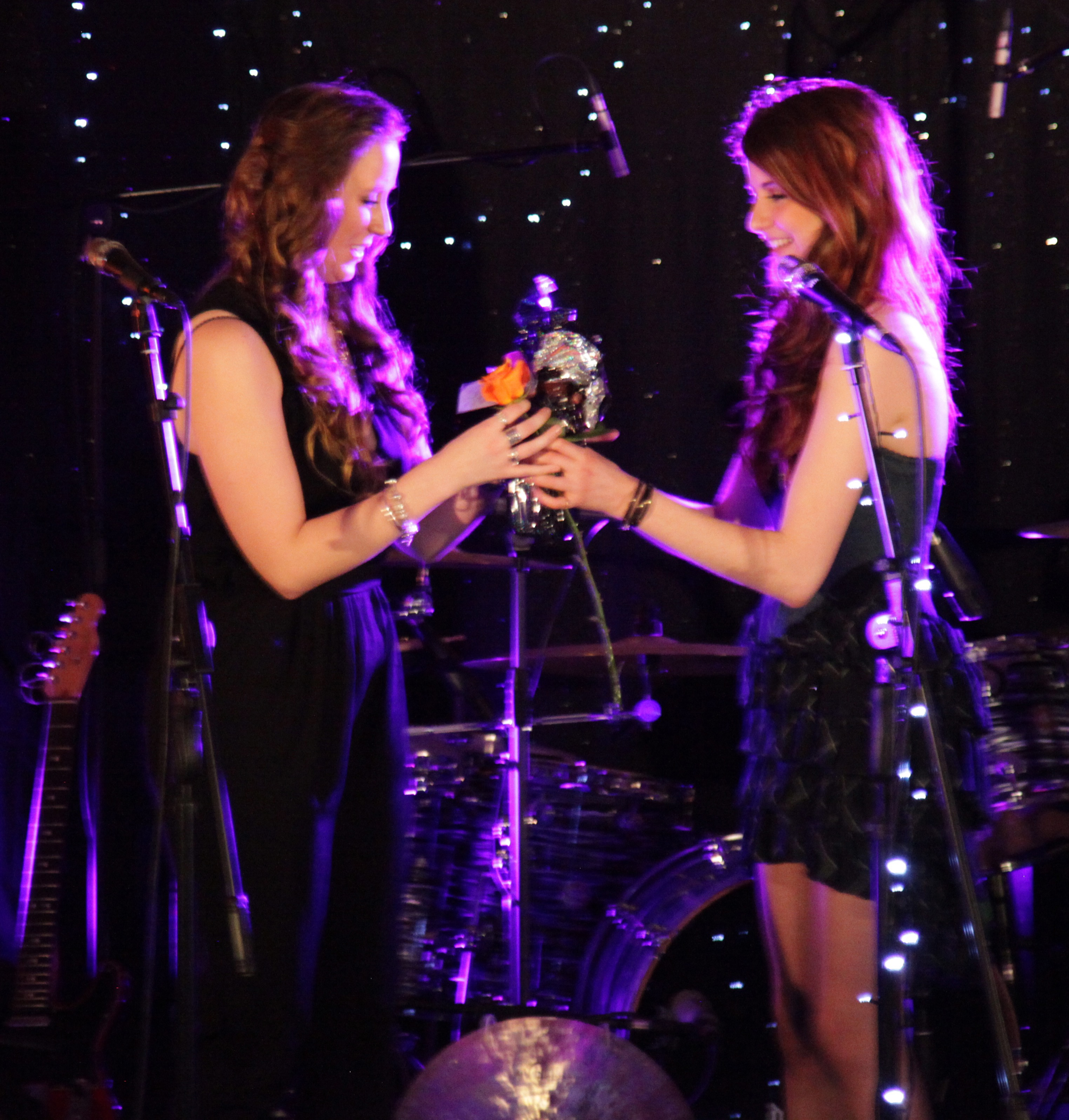 Toni Lenore and Molly Devine